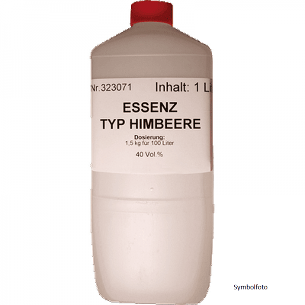 Aroma-essenz, Himbeer, 1000 ml f.70Lt