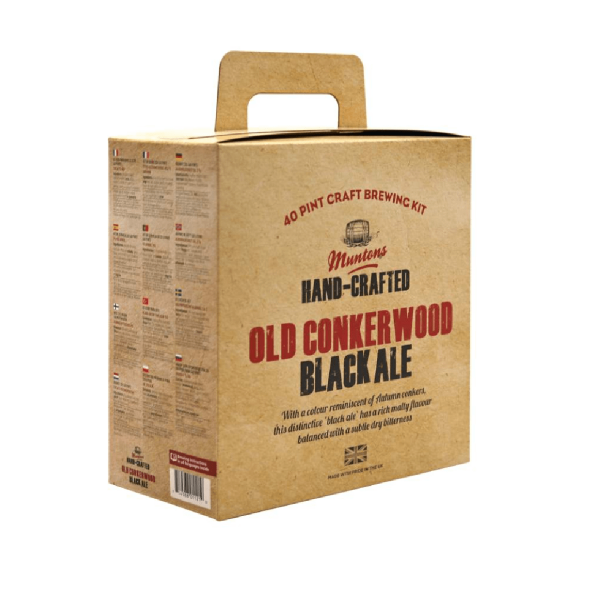 HOME-BREWING SET MUNTONS Old Conkerwood Black Ale 3,7kg