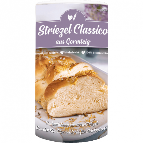 Baking MIX STRIEZEL CLASSICO from yeast dough