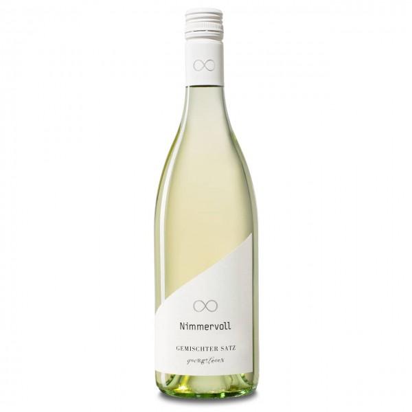 Nimmervoll Wein Gemischter Satz quergelesen 2020, 11,5%vol, 0,75l