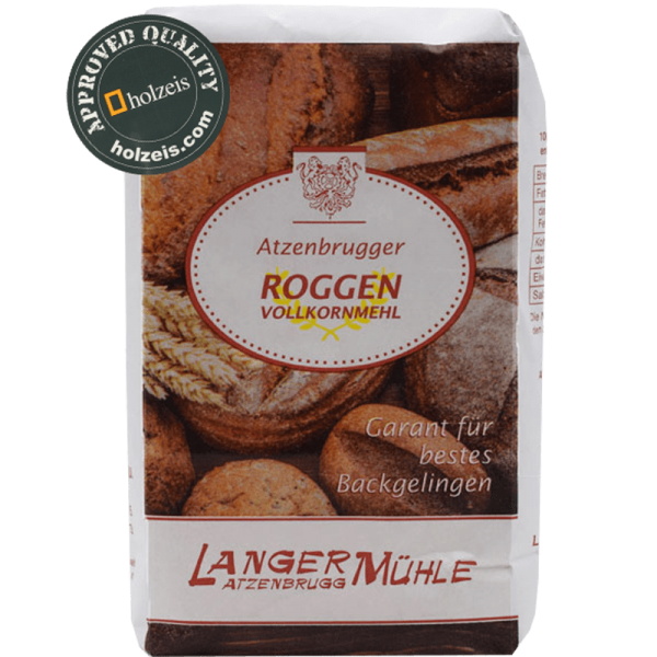 RYE FLOUR AUSTRIA whole grain, 1 kg