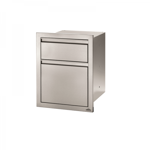 NAPOLEON BUILT-IN TRASH CAN CABINET&KITCHEN ROLLER H.
