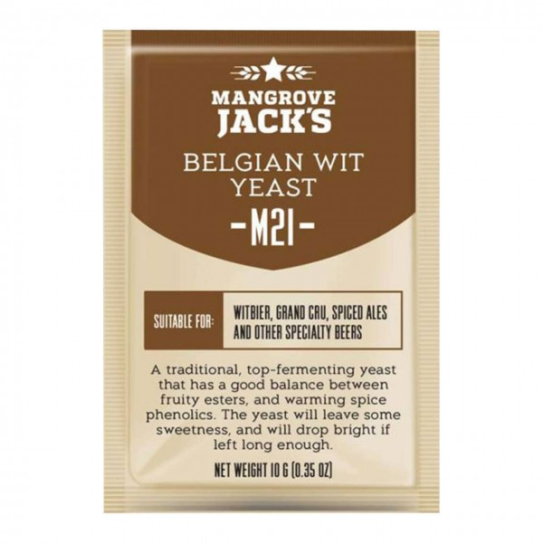 Brewer's yeast Mangrove Jack's Craft M21 Belgian Wit 10g