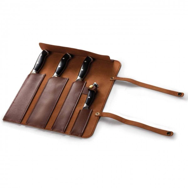 NAPOLEON LEATHER KNIFE POUCH