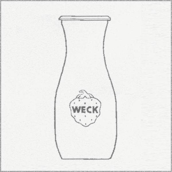 WECK JUICE BOTTLE, 500 ml, 6 pcs. 764