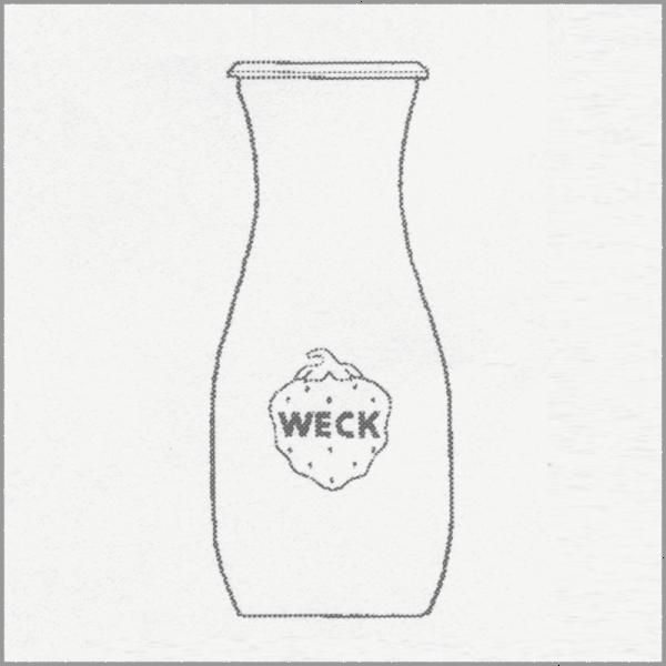 WECK SAFTFLASCHE, 500 ml, 6 Stk. 764