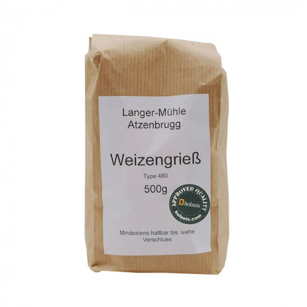 WHEAT FLOUR AUSTRIA, W480 smooth, 1 kg