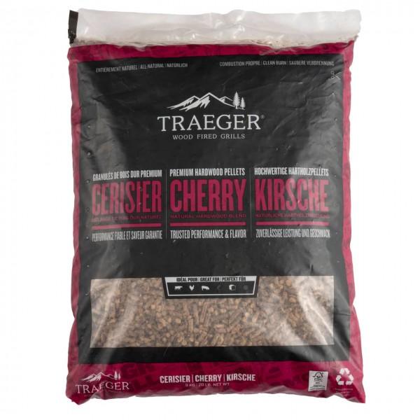 Traeger Smoker Pelletgrill FSC Cherry/Kirsch Pellets, 9kg