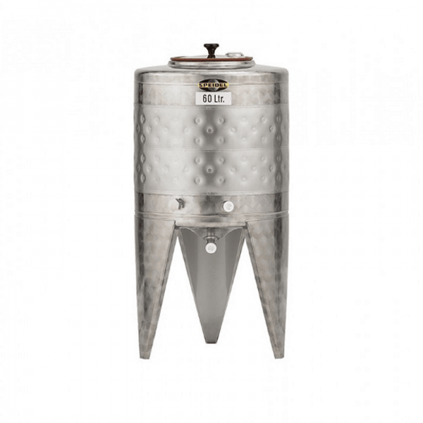 Small stainless steel fermentation tank