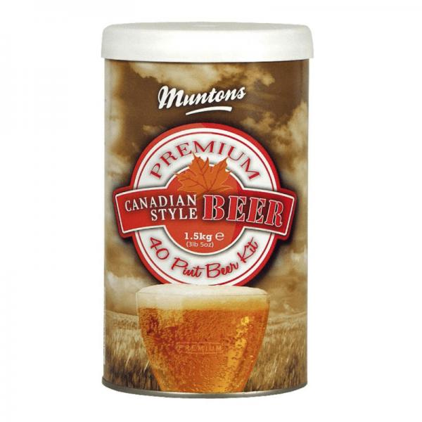 Heimbrauset Muntons Canadian Ale 1,5kg