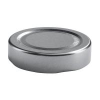 Ersatz-twist-off Deckel, Factum 58mm silber