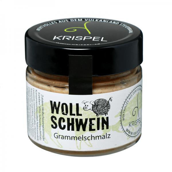 KRISPEL Wollschwein Grammelschmalz, 180g