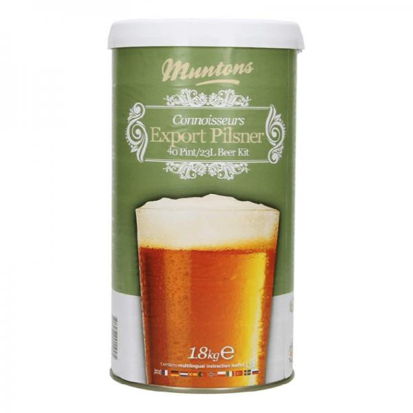 Heimbrauset Muntons Export Pilsner 1,8 kg