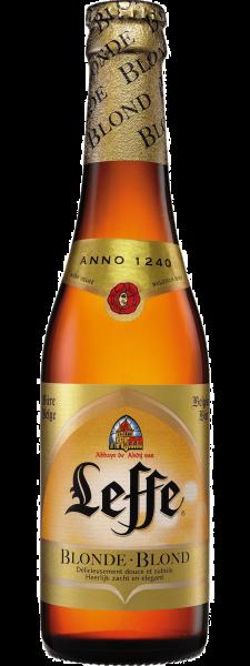 Special beer Leffe Blonde
