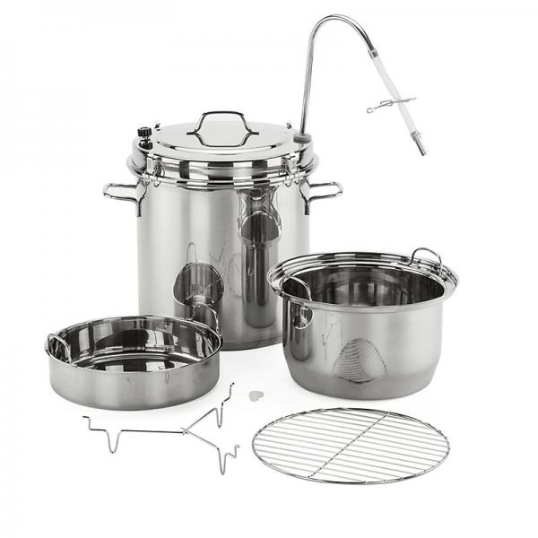 Multi-Purpose Pot Stainless Steel-Steam Juicer, 15