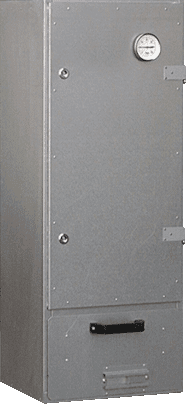 SMOKING CABINET RS 40, aluminized, complete - SET