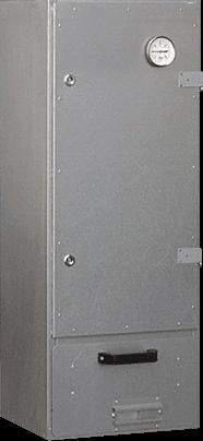 RÄUCHERSCHRANK RS 40, aluminiert, Komplett - SET