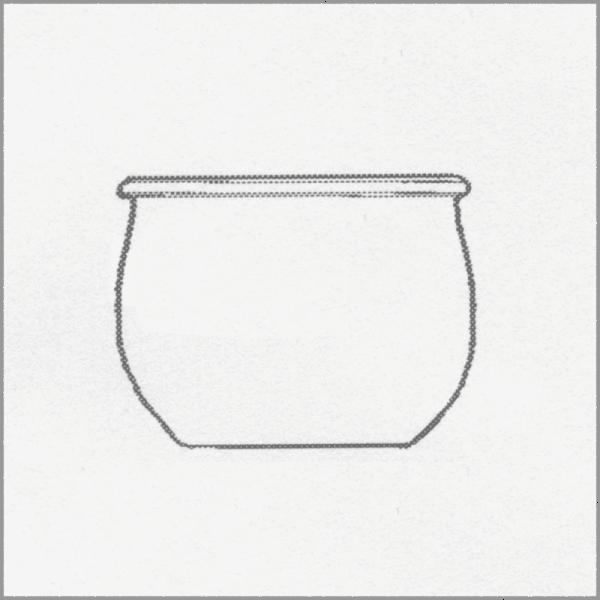 WECK BOTTLE JAR tulip shape 500 ml, 6 pcs. Pkg 744