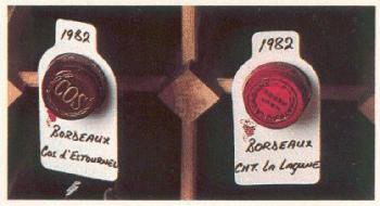 Beschriftungsschilder für Weinfl., 20 Stk.