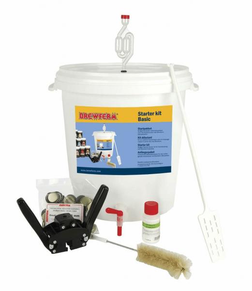 BEGINNER'S KIT BASIC for home brewing sets