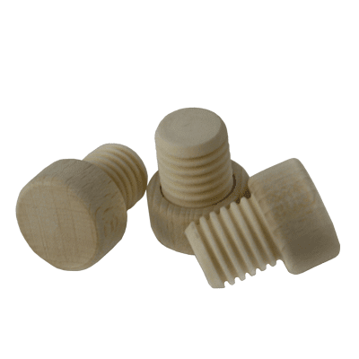 Gripping Corks wooden grip, ribbed, 19mm, 100 pcs.