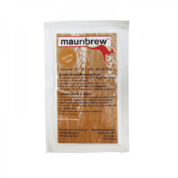 MAURIBREW ENGLISH ALE 514 brewer's yeast og 12,5g