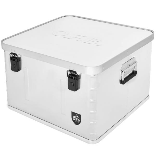 OTTOS STORAGE BOX for O.F.B., aluminum