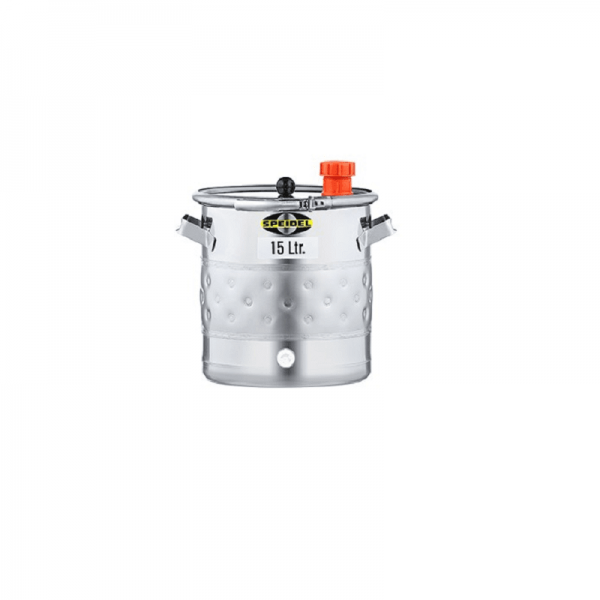 SPEIDEL - GARBAGE AND STORAGE DRUM, double jacket, 15 l