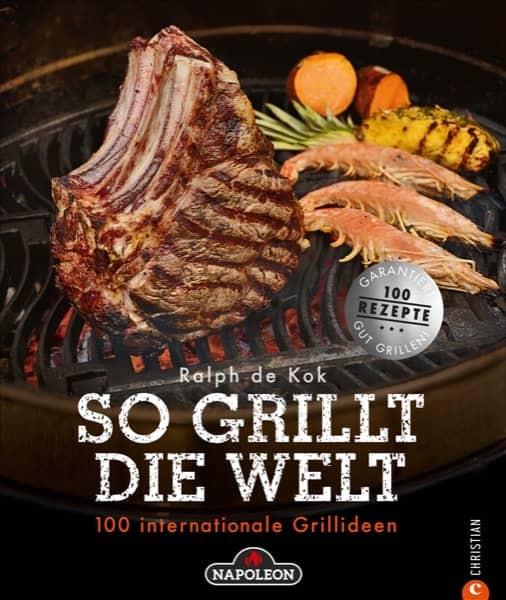 "NAPOLEON BBQ Book ""DIE HOHE SCHULE DES GRILLENS"""