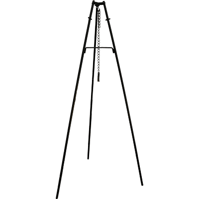 Tripod wrought iron for copper kettle