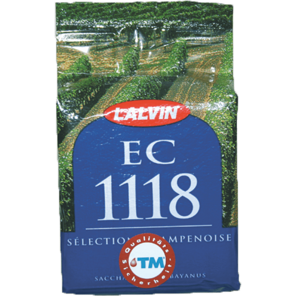 DRY REFINING YEAST LALVIN EC1118 Organic, 500g