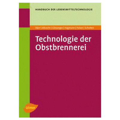 Technology of fruit distillation, 3rd edition