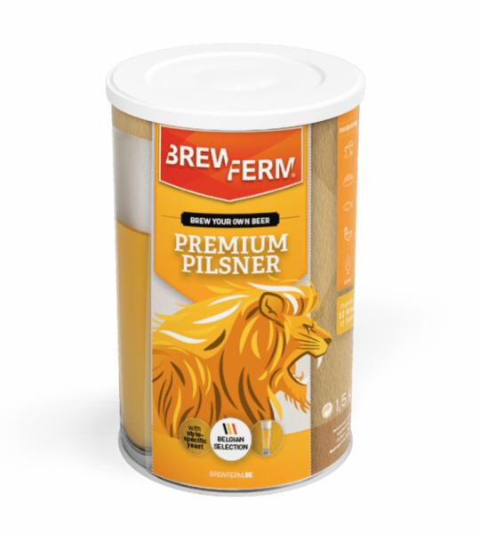 HOME-BREWING SET BREWFERM Premium Pilsner 1,5kg