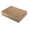 Geschenkkarton Außenwelle, braun H38xB26,5xT8,5
