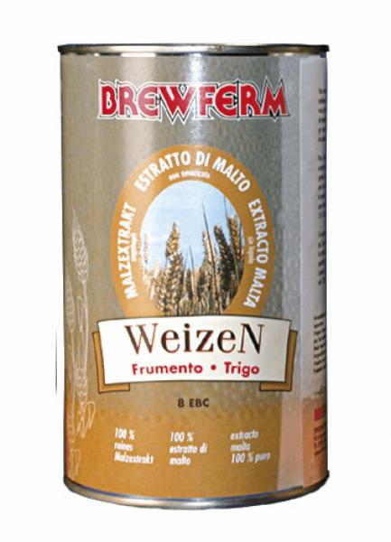 Brewferm Flüssigmalzextrakt Weizen 1,5kg
