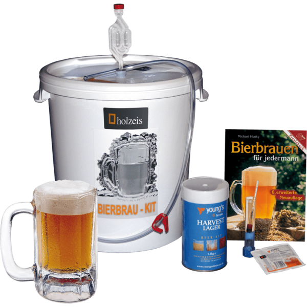 "holzeis - BEER BREWING KIT ""Advanced"", 23 l beer"