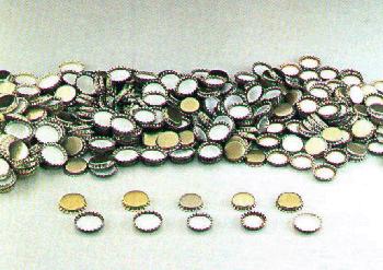 Crown Caps 26mm, GOLD, 100 pcs.