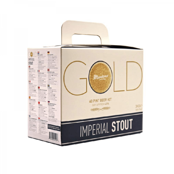 HEIMBRAUSET MUNTONS GOLD Imperial Stout 3kg