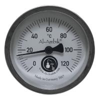 Helmthermometer analog für Kupfer Destiller