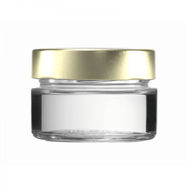 Factum-marmelade-pastete-pesto-glas 106 ml, gold