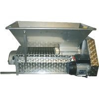 Jolly Rebler, Abbeermaschine mit Motor 230V, Edelstahl