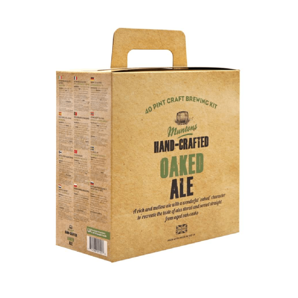 Heimbrauset Muntons Oaked Ale 3,7kg