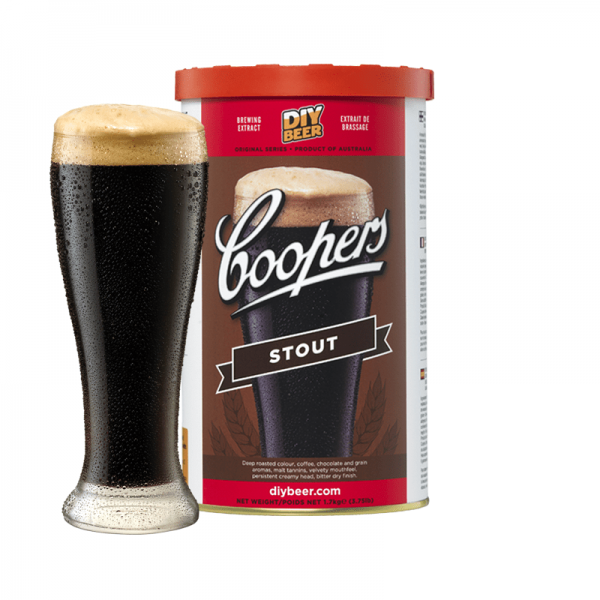 Heimbrauset Coopers Stout 1,7 kg