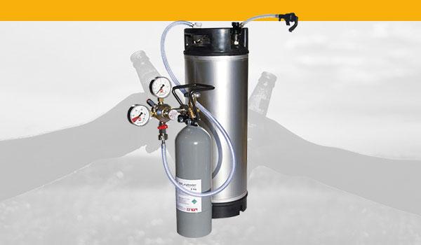 Druckbehalter-Kegs-CO2-Anlagen