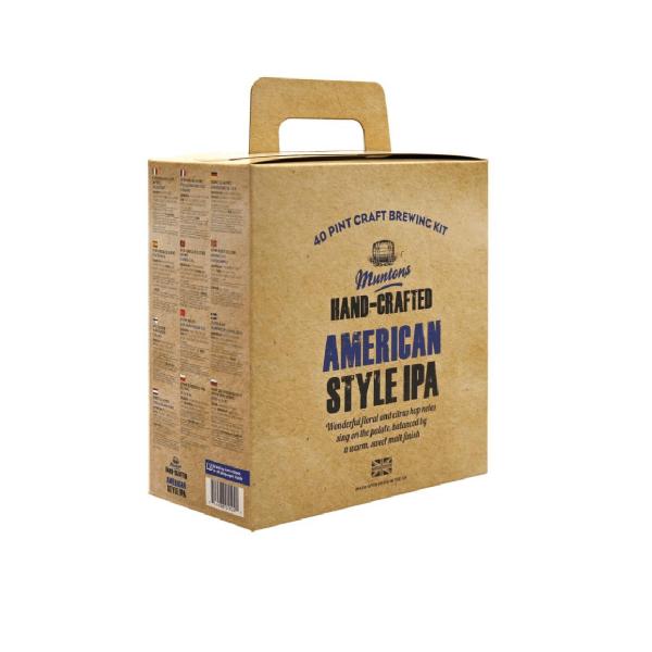 HOME-BREWING SET MUNTONS American Style IPA 3,7kg