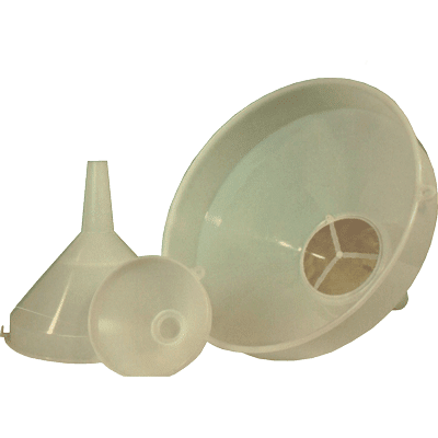 Funnel with Sieve Insert, small, d=15 cm