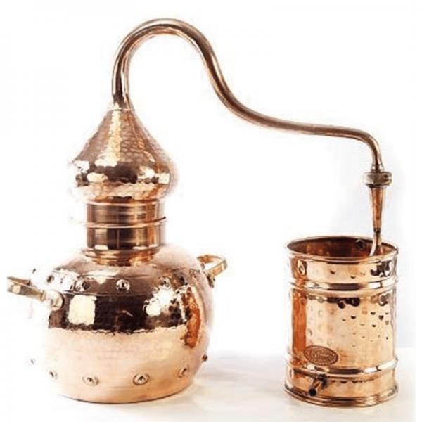 """Mini-destiller """"Orient"""", 3 Liter, genietet"""