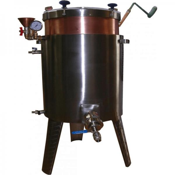 MARMELADEKESSEL 15L Gas