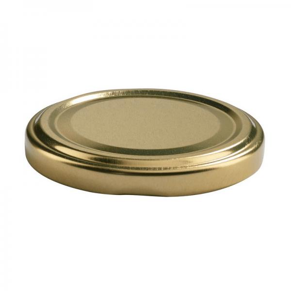 To-deckel, gold, Dm=43 mm