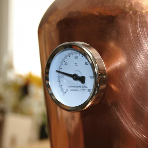 Helmthermometer mit Buchse für holzeis-Schnapsbrennanlage